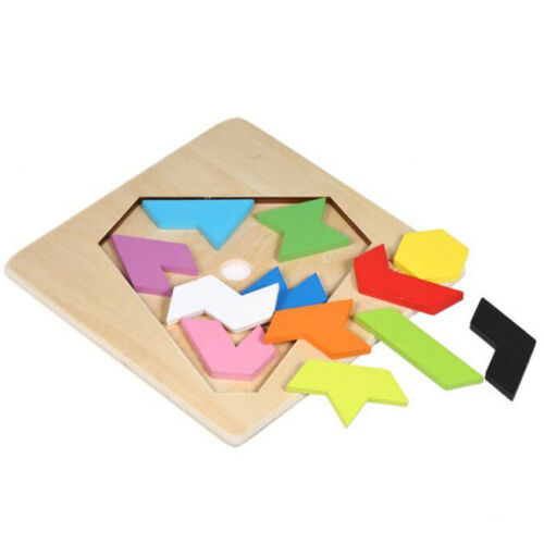 Children Puzzle Kids Wooden Educational Toys Heart Shape Jigsaw Puzzle Toys Shan 4