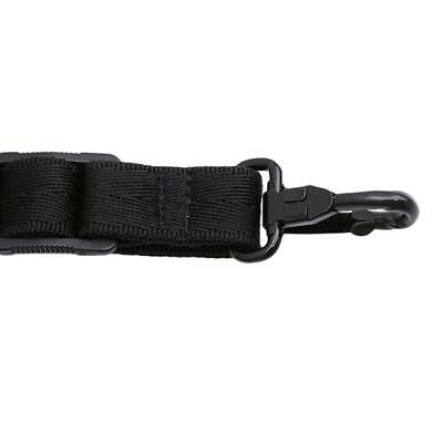 Black Adjustable Saxophone Strap Padded Neck Sling For Alto Tenor Clarinet GR 6