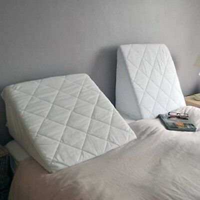 Comfortnights Bed Wedge with Washable, Quilted Poly Cotton Cover