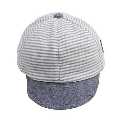 HOT Infant Baby Boys Girls Toddle Cotton Cap Summer Striped Sun Hat B