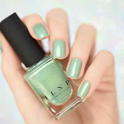 ILNP PRINCETON - Refined Mint Green Holographic Nail Polish - $10.00 ...