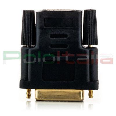 Adattatore da DVI-D dual link 24+1pin maschio a HDMI femmina | convertitore cavo 3