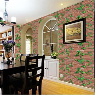 Retro Stone Brick Wallpaper Self Adhesive For Living Room Bedroom Home Decor FG 4