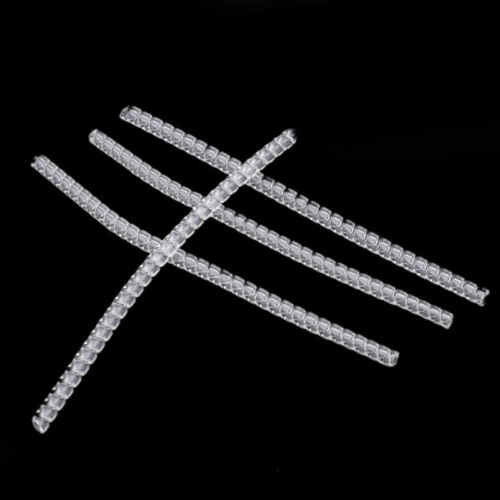 Women 10pcs Invisible Ring Adjuster Size Reducer Jewelry Guard Clear Resizer GD 5