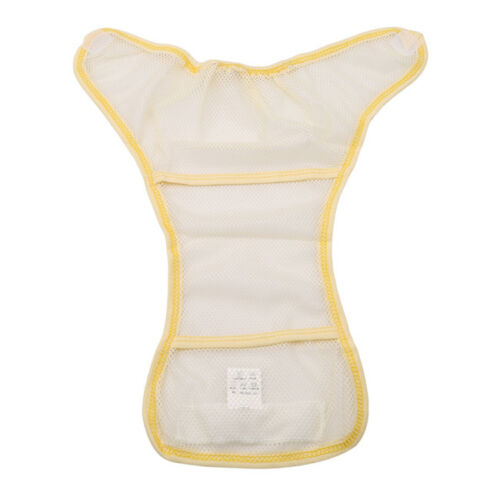 Reusable Baby Nappies Diapers Cloth Insert Adjustable Washable Pocket Supplies 3