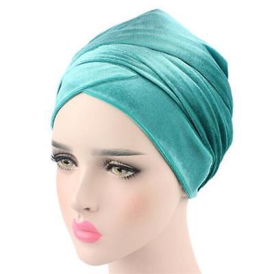 Women Lady Turban Wrap Head Hat Tube Scarf Arab Hijab Long Tail Cap New FI 11