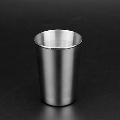 Stainless Steel Cups Mug Shot Cover Case Coffee Tea Beer Camping Tumbler FG 4