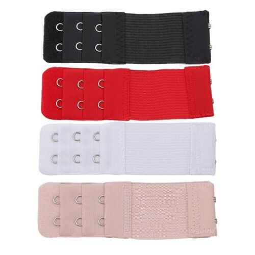 10PCS 2//3 Hooks Bra Strap Extender Back Extension Underwear Belt Adding U.A.T
