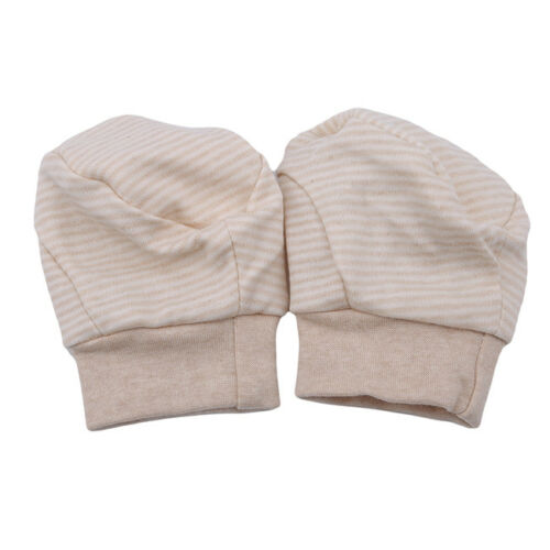 Striped Boy Girl Newborn Anti Scratch Infant Warm Foot Gloves Mittens Unisex N7 8