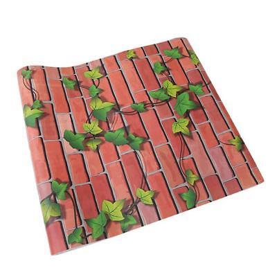 Retro Stone Brick Wallpaper Self Adhesive For Living Room Bedroom Home Decor FG 9