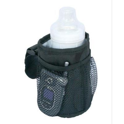 New Universal Stroller Pram Cup Holder Drink Pocket Insulated Key Phone Holder Q