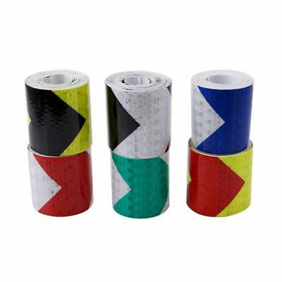 PVC Safety Reflective Warning Tape Conspicuity Film Sticker Multi-color HC 2