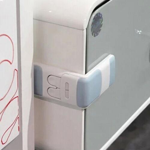 Toddler Baby Kids Child Safety Lock Proof Cabinet Drawer Fridge Cupboard Door JO 3