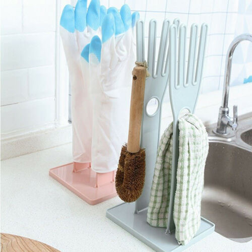 Glove Rack Drying Drain Stand Holder Dish Kitchen Tools Household 8C