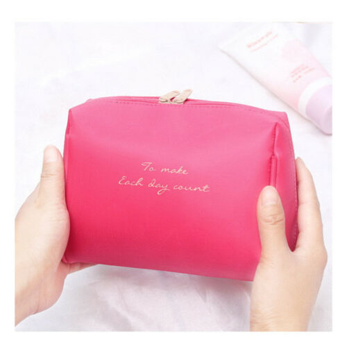 Women Travel Makeup Travel Organizer Cosmetic Toiletry Zip Storage Bag Pouch B 4