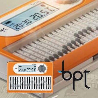 BPT Cronotermostato Giornaliero a cursori  BPT TH/125 - bpt th125 PROMO