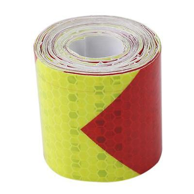 PVC Safety Reflective Warning Tape Conspicuity Film Sticker Multi-color HC 9