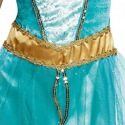 5 of 7 disguise princess jasmine deluxe aladdin disney girls halloween costume 98494