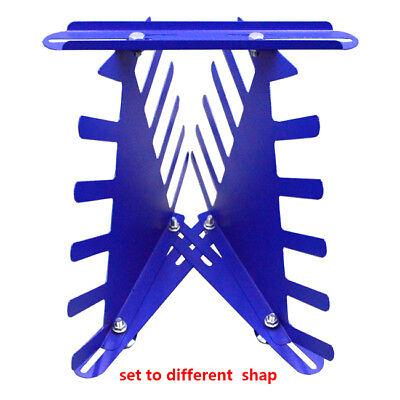 Desktop Siebdruck Squeegee Rack Spachtel Halter Veranstalter Regale Werkzeug 6
