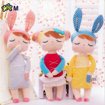 ... Cute Stuffed Metoo Angela Plush Sleeping Girl Bunny Rabbit Baby Doll Toy Gift 2