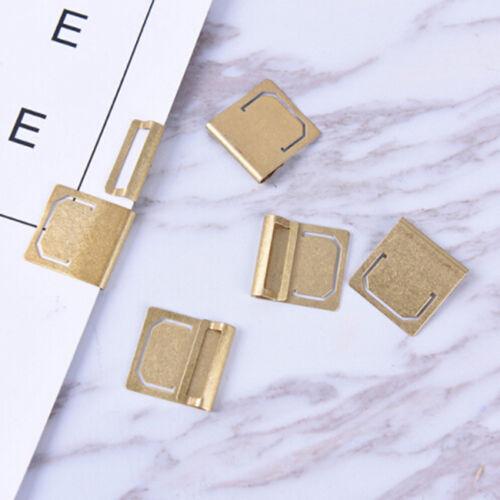 6pcs copper-tone Crafted Bookmark h1370