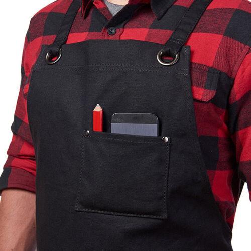 Heavy Duty Workshop Apron With Utility Tool Storage Pockets For Men Women 8C 9