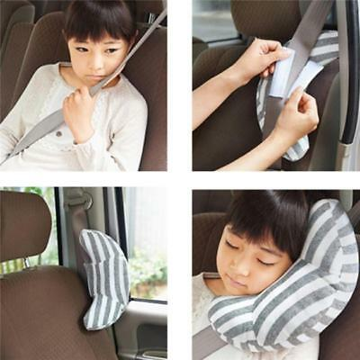 Car Seat Belt Pads Harness Safety Shoulder Strap Striped Pack Cushion Covers RE 4