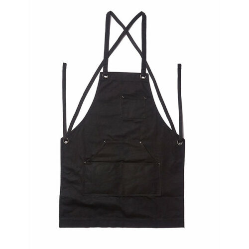 Unisex Men Work Apron With Utility Tool Pockets Heavy Duty Waxed Canvas One Size 3