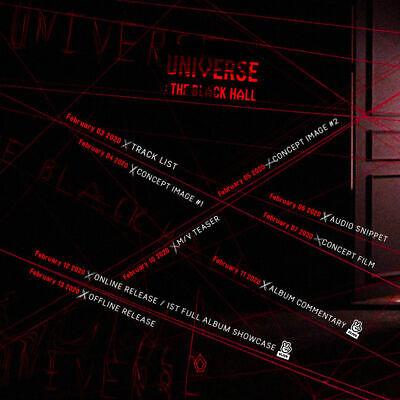 PENTAGON UNIVERSE:THE BLACK HALL 1st Album CD+POSTER+Book+Card+etc+PreOrder+GIFT 2