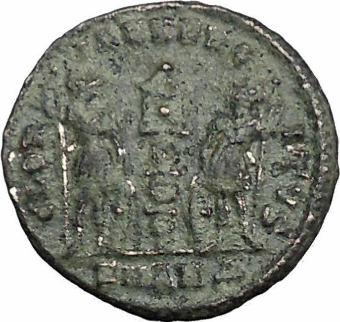 Constantine I The Great 335AD Ancient Roman Coin Legions Glory of Army  i33147 2
