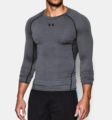 Under Armour Men's HeatGear Long Sleeve Compression Shirt, 1257471, NWT