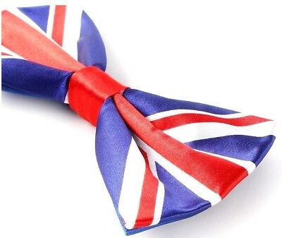 c910f8dc7312 ... New Union Jack England UK Flag Bow Tie Bowties Great Britain GB Bow tie  2