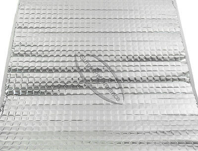 1 x 4 Meter Rolle ALUBUTYL Dämmungs Matte Bitumen-Ersatz AutoTür HIFI Neu