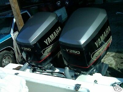 Yamaha 250 ox66 v6 saltwater series ii outboard decals for Yamaha outboard break in procedure