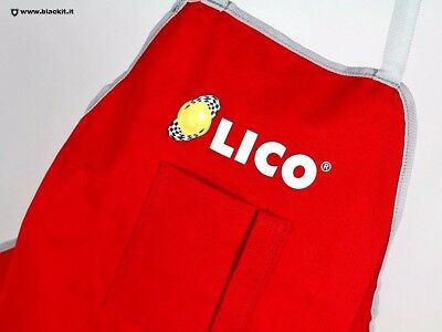 Grembiule meccanico Lico by Sparco Rosso