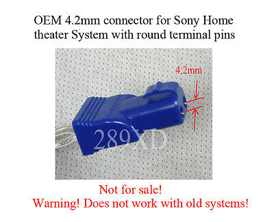 2 12FT SPEAKER extension cables/wires made for select Sony Home ...