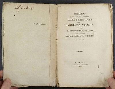 1813 Book- Pietre Dure @ Sagrerstia Vecchia Basilica San Lorezno Florence Duomo 4