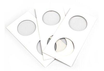 100 X Dollar size 2x2 cardboard mylar coin holder flip for SILVER DOLLARS 40 mm 3