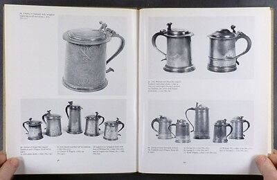 Antique English Pewter - London Worshippful Company of Pewterers 1968 Catalog