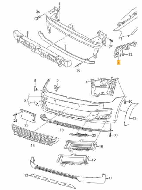 2013 Ford Fusion Trunk Space