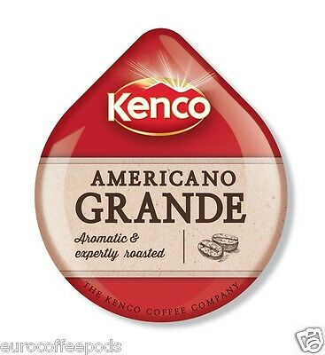 48 x Tassimo Kenco Americano Grande Coffee T-disc (Sold Loose) Medium Roast 2