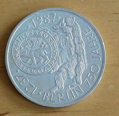 10 Mark Münze 1987 750 Jahre Berlin Eur 1740 Picclick De