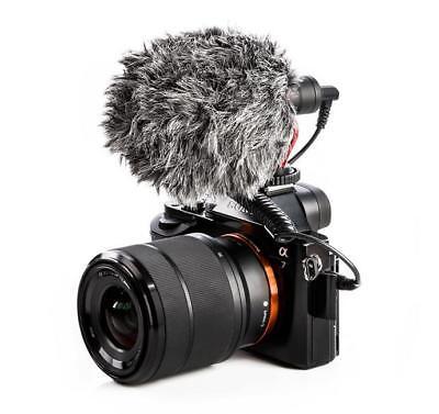 BOYA BY-MM1 Cardioid Shotgun Microphone MIC for DSLR Camera Smartphone Camcorder 3