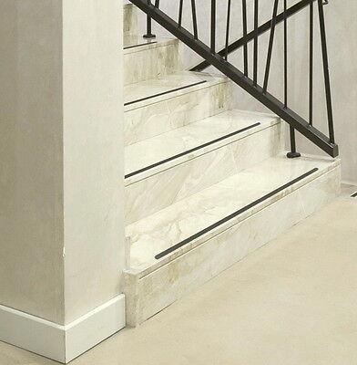 anti rutsch streifen gummiert transparent treppe. Black Bedroom Furniture Sets. Home Design Ideas