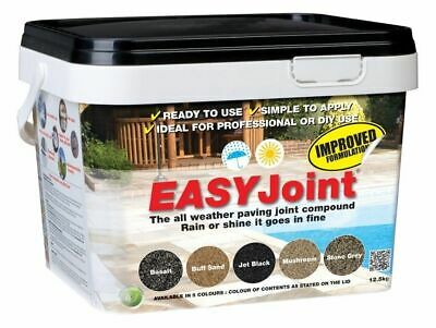 EasyJoint | Jointing Compound | Patio Pointing | Paving Mortar | Grout | 12.5Kg 5