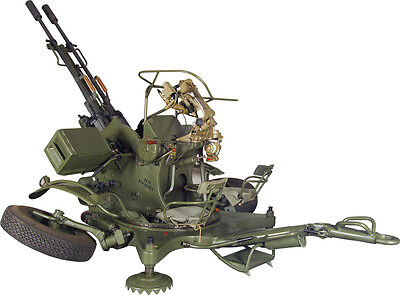 ZU-23 Soviet  23mm anti-aircraft twin-barreled autocannon lego Moc ZU-23-2