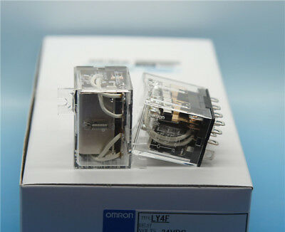 New Omron Relay LY4F 24VAC Coil