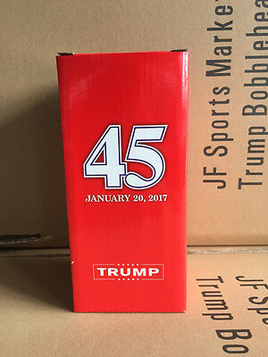 Official Donald Trump Presidential Inauguration Bobblehead Bobble head NEW W/Box 9