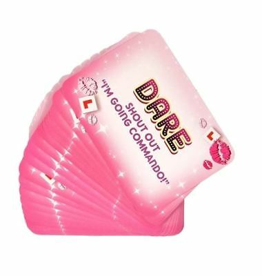 Dare cards hen party game hen night accessories party bag fillers favours 24