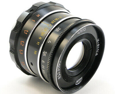 ⭐SERVICED⭐ INDUSTAR-61 L/D Lens + Adapt. E-Mount Sony A 7 7R 7S II III A9 a6500 3